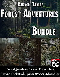 Forest Adventures Bundle. 5 pdfs on DMs Guild