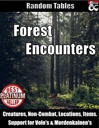 5e Dnd Forest Encounter Random Generator