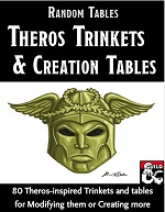 Theros Trinkets & Creation Tables
